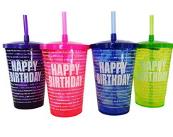 Walking Cup Happy Birthday - Copo 700ml