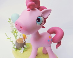 Topo de bolo my little pony pinkie pie