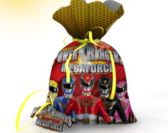 Saquinho Power Rangers Megaforce 2