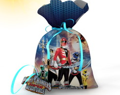 Saquinho Power Rangers Megaforce 4-20x15