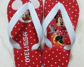 Chinelo da Minnie