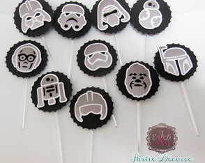 Toppers 3d Star Wars