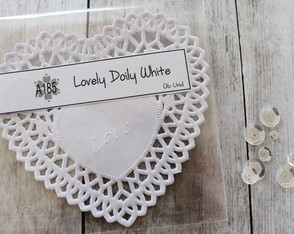 Lovely Doily White (A185)