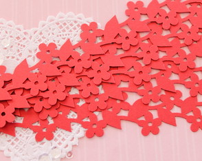 Borders Blossom Red (A042)
