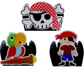 Kit Forminhas Piratas 3