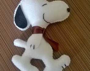 Chaveiro do Snoopy