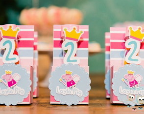 Kit Papelaria Peppa Princesa