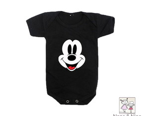 Body ou Camiseta Infantil Mickey