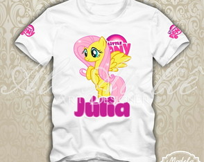 Camiseta My Little Pony Personalizada