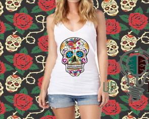 8f33b5f555e7e camiseta caveira mexicana