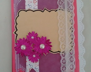 mini album envelope em scrapbook interat