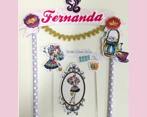 topo de Bolo Ever after high