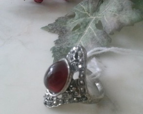 Anel Ancient Ruby