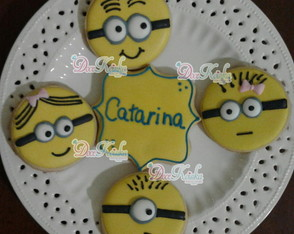 Biscoito Decorado Minion