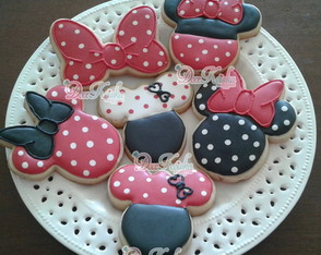 Biscoito Decorado Minnie