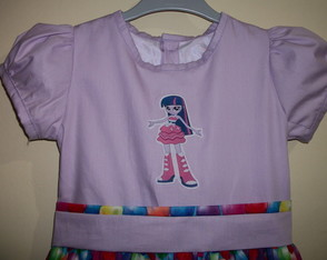 Vestido TwIlight sparkle EQUESTRIA GIRL
