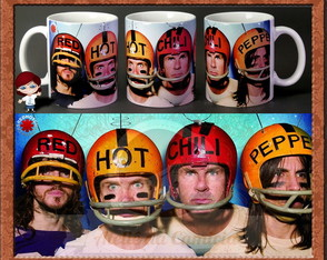 Caneca Red Hot Chili Peppers 01