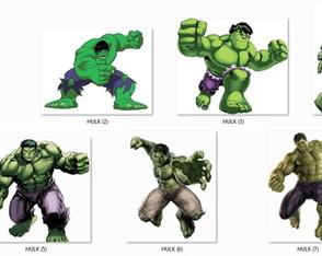 hulk eloarts festejando com personalidade elo7