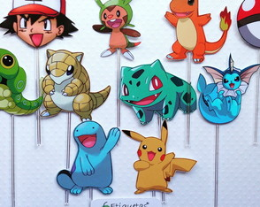 Topper - Festa Pokemon