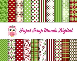 papel digital natal 4-15