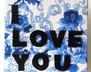 Quadro I Love You 01