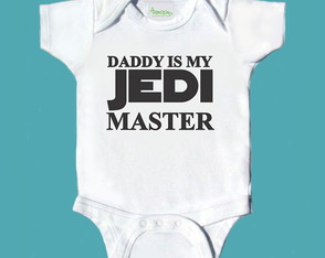 Daddy Is My Jedi Master