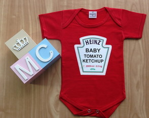 Body Baby TOMATO KETCHUP HEINZ