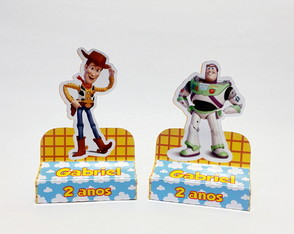 Porta Chocolate duplo Toy Story