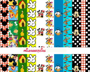 papel digital turma Mickey
