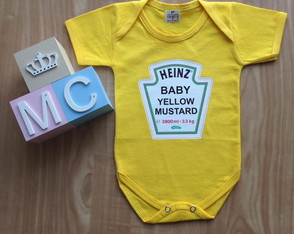 Body Baby YELLOW MUSTARD HEINZ