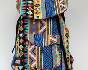 Mochila Tribal Colorida Hypster Marichia