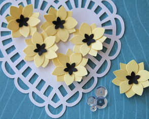 Poppy Flower Yellow (A252)