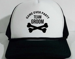 Boné Trucker Casamento Team Groom Bride