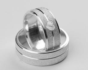 27d4037c3f8b4 Aliança de Prata - Coleção de Pratarium Alianças ( pratarium)