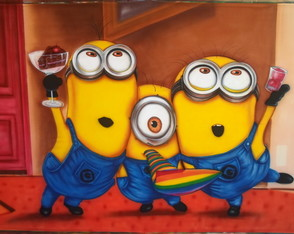 Painel Minions