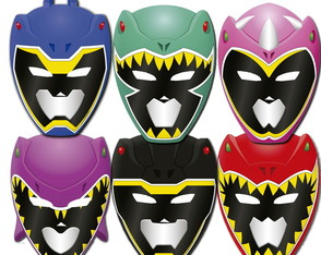 Mascaras Power Rangers Dino Charge