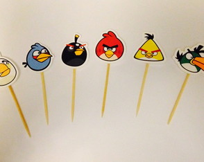 Topper pequeno Angry Birds