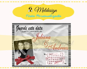 Save the date Casamento Digital