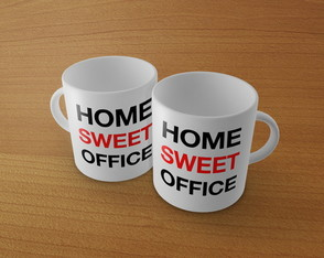 Caneca Home Sweet Office