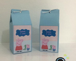 Peppa Pig - Caixa milk box