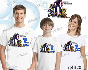 Kit 3 Camiseta Aniversario Transformers