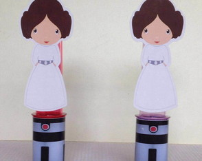 Tubetes Star Wars - Princesa Leia