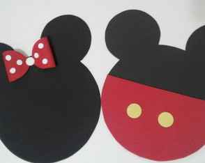 Lugar americano Minnie / Mickey