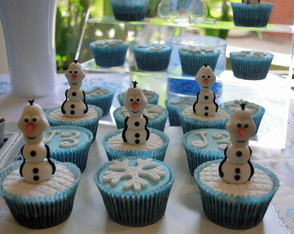 Cupcakes Frozen Olaf