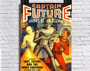 Poster Captain Future