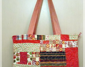 Bolsa feminina Big Patch Vermelha