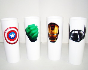 "Copo Log Drink ""Vingadores"""