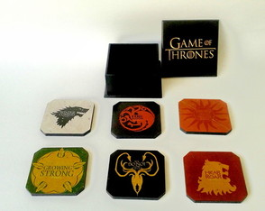 Porta copos - Game Of Thrones