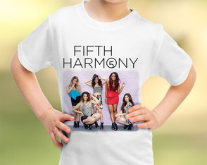 Camiseta Infantil Fifth Harmony