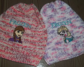 Tricô Manual | Gorro Infantil Frozen